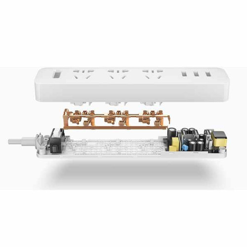 Xiaomi Smart USB Power Strip Outlet Socket Plug with 3 USB Ports
