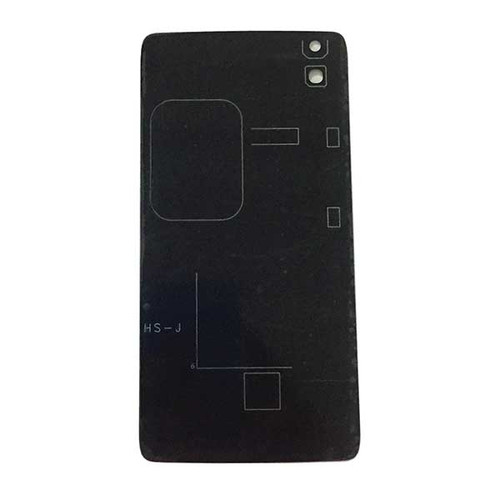 Back Glass Cover for Alcatel Idol 4 OT6055 -Black
