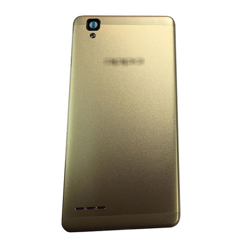 Back Housing Cover without Side Keys for Oppo F1 A35 -Gold