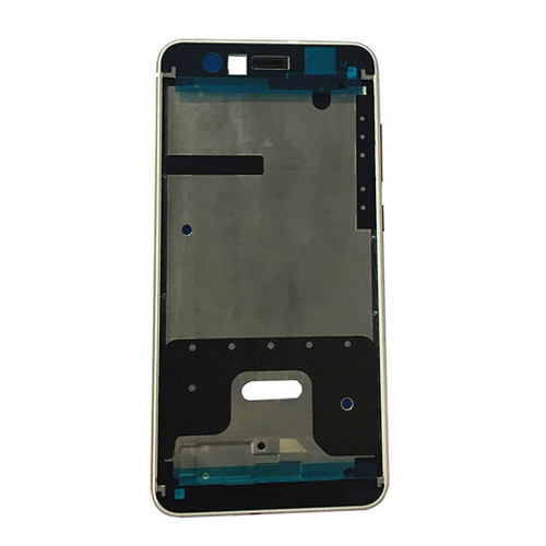 Front Housing Cover with Side Keys for Huawei P10 Lite -White