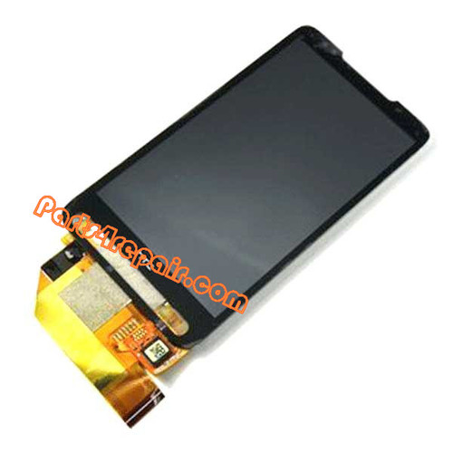HTC Touch HD2 LCD Display Touch Screen Digitizer Assembly (Solder Needed) from www.parts4repair.com