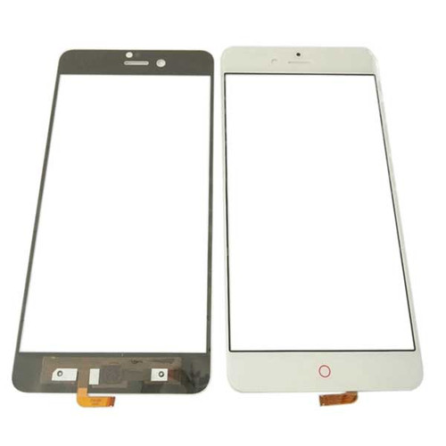 Front Glass with Flex Cable for ZTE Nubia Z11 mini S NX549J -White