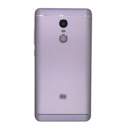 Back Housing Cover with Side Keys for Xiaomi Redmi Note 4X -Gray
