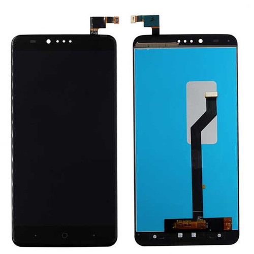 Complete Screen Assembly for ZTE Zmax Pro Z981 - Black