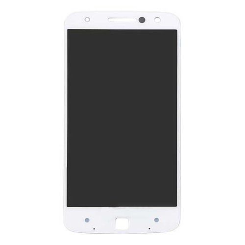 Complete Screen Assembly for Motorola Moto Z XT1650 -White