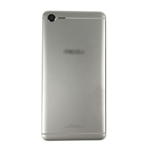 Back Housing Cover with Camera Lens for Meizu E2 -Silver