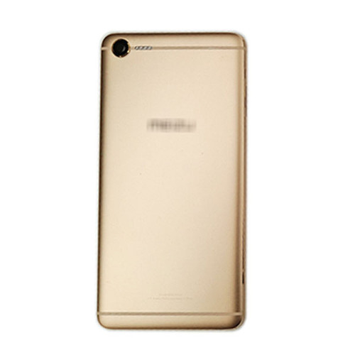 Back Housing Cover with Camera Lens for Meizu E2 -Gold