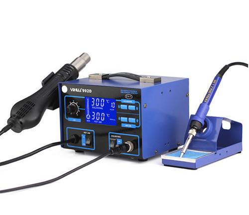 YIHUA 992D 2 in 1 ESD Hot Air Rework Soldering Station