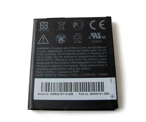 HTC Desire HD Battery Replacement