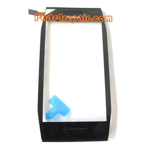 Touch Screen Digitizer with Bezel for Nokia X7-00