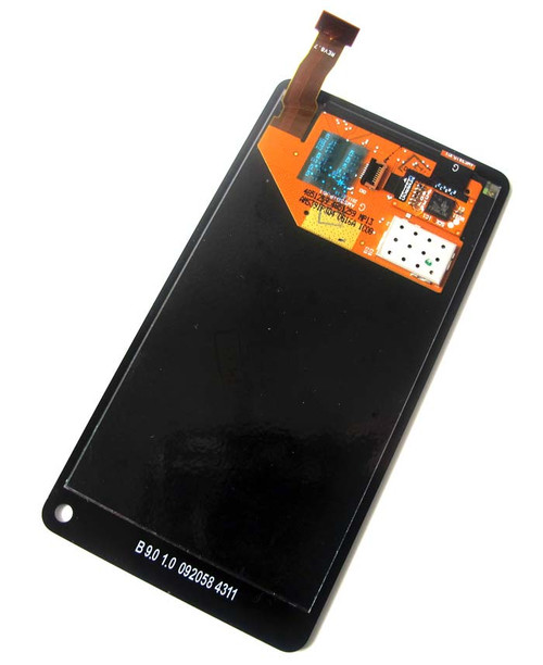 Nokia N9 Complete Screen Assembly without Iron Stand from www.parts4repair.com