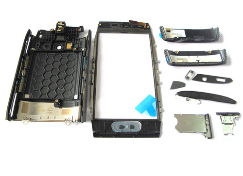 Full Housing Cover for Nokia X7-00 -Black