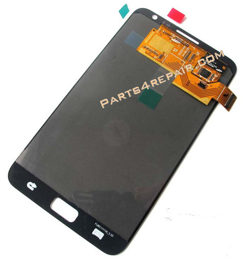 Complete Screen Assembly for Samsung Galaxy Note N7000 -Black