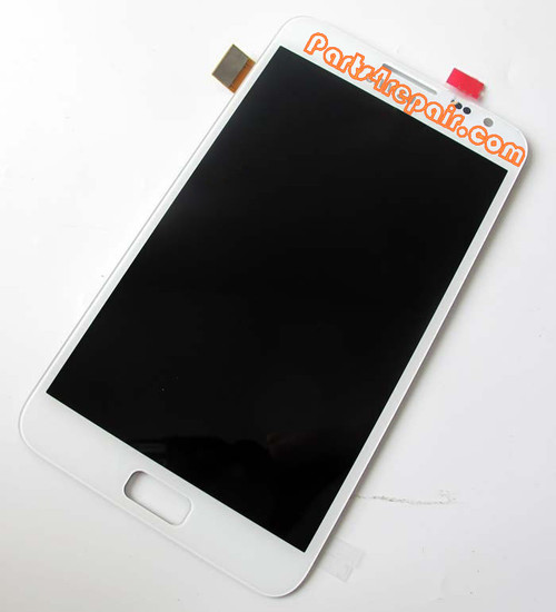 Complete Screen Assembly for Samsung Galaxy Note -White