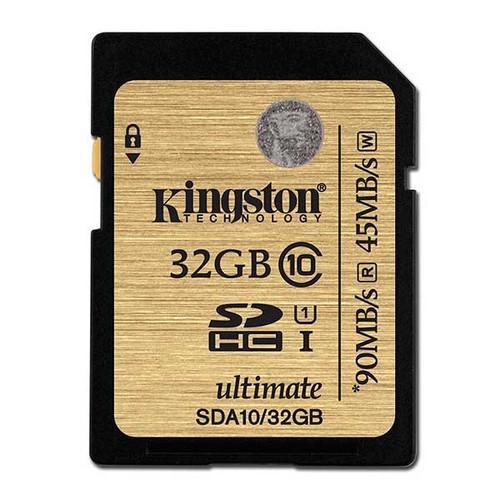 Kingston 32GB SDHC 90MB/S Memory Card