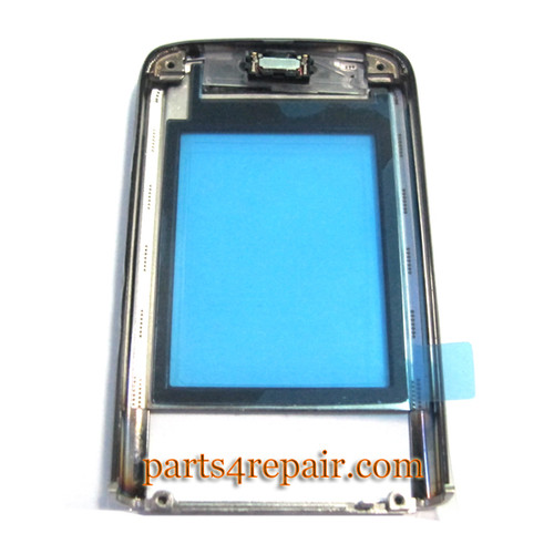 Front Cover for Nokia 8800 Arte Black