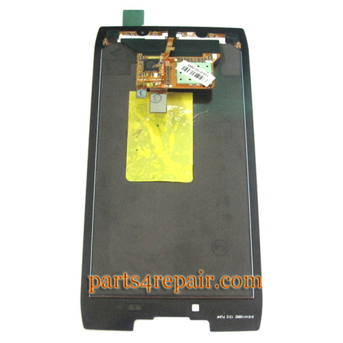Complete Screen Assembly without Bezel for Motorola RAZR XT910