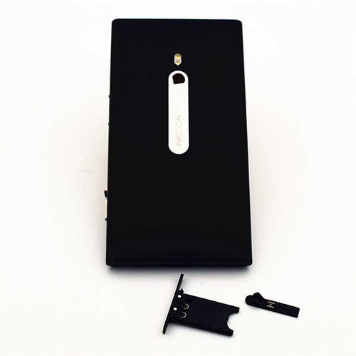 Back Housing Assembly Cover for Nokia Lumia 800 -Black