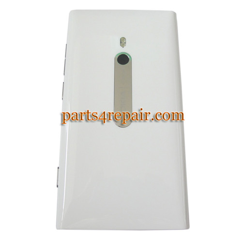 Nokia Lumia 800 Back HousingAssembly Cover -White from www.parts4repair.com