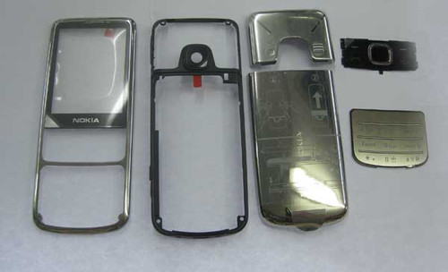 Nokia 6700 Classic Full Housing Cover -Sliver from www.parts4repair.com