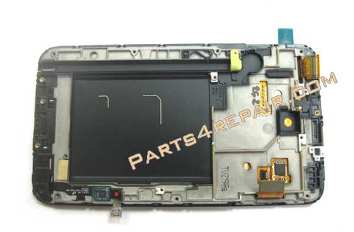 Complete screen Assembly with Bezel for Samsung Galaxy Note N7000-Black