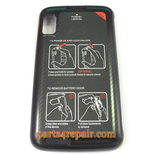 Motorola Atrix 4G MB860 Back Cover from www.parts4repair.com