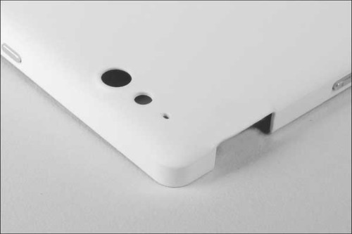 Battery Cover with Side keys for Sony Xperia go ST27i -White