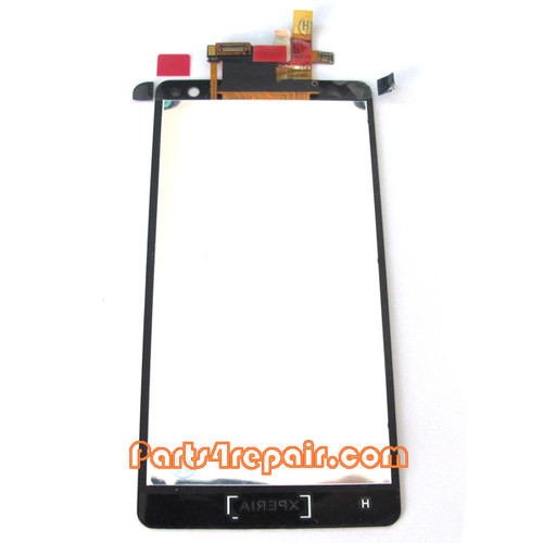 Complete Screen Assembly without Bezel for Sony Xperia TX LT29i Xperia (Used)