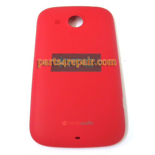 Battery Cover for HTC Desire C a320e -Red