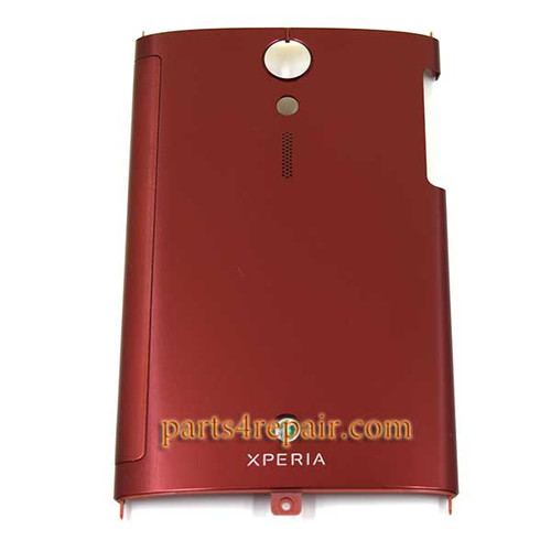 Sony Xperia ion LTE LT28 Back Door Cover -Red