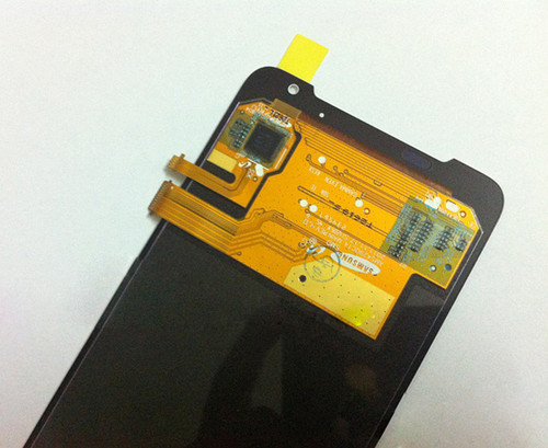 Complete Screen Assembly without Bezel for HTC J Z321E -White