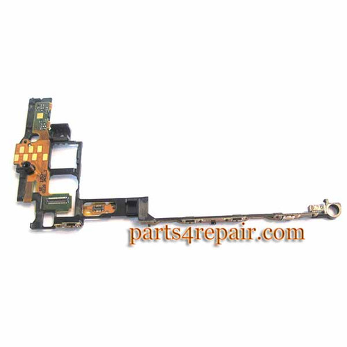 Sony Xperia acro S LT26W Side Key Flex Cable from www.parts4repair.com
