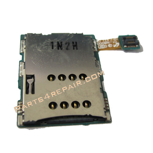 Samsung Galaxy Note 10.1 N8000 SIM Holder Flex Cable from www.parts4repair.com
