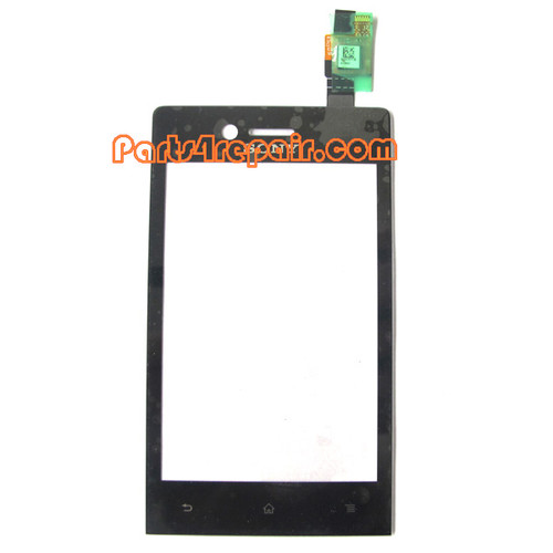 Sony Xperia miro ST23I Touch Screen with Digitizer from www.parts4repair.com