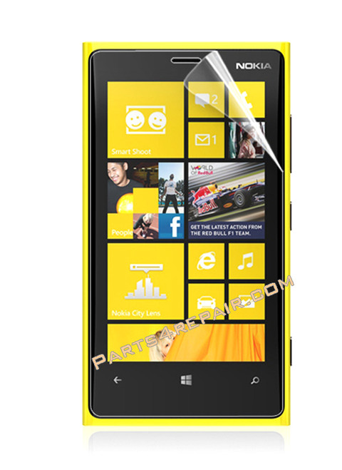 Nokia Lumia 920 Clear Screen Protector Shield Film from www.parts4repair.com