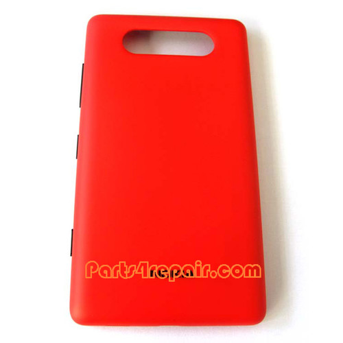 Back Cover with NFC for Nokia Lumia 820 -Red