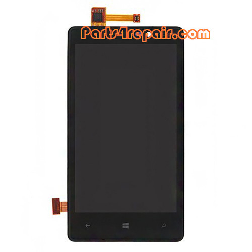 Complete Screen Assembly with Bezel for Nokia Lumia 820