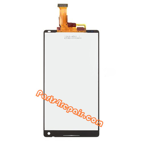Complete Screen Assembly for Sony Xperia ZL L35H (Used) -White