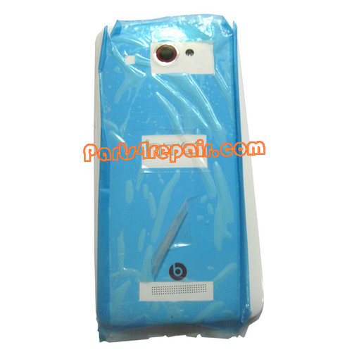 Back Cover for HTC Butterfly X920E (HTC Version)-White