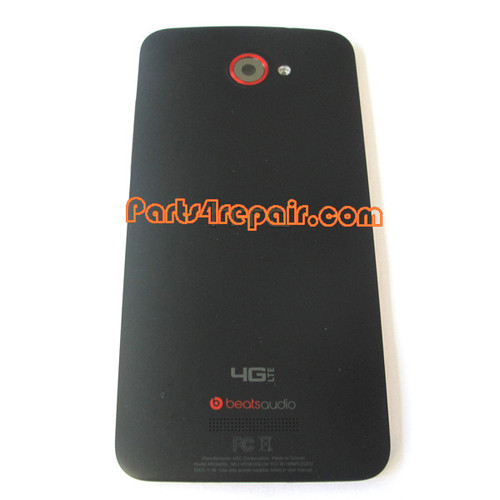 Back Cover for HTC Butterfly X920E (HTC Version)-Black