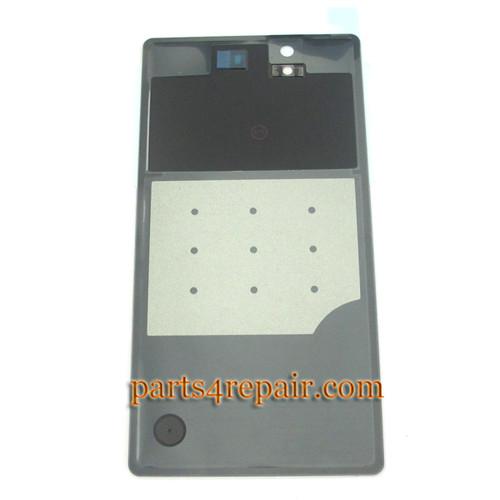 Back Cover for Sony Xperia Z L36H -Black
