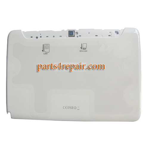 Back Cover for Samsung Galaxy Note 10.1 N8000 -White
