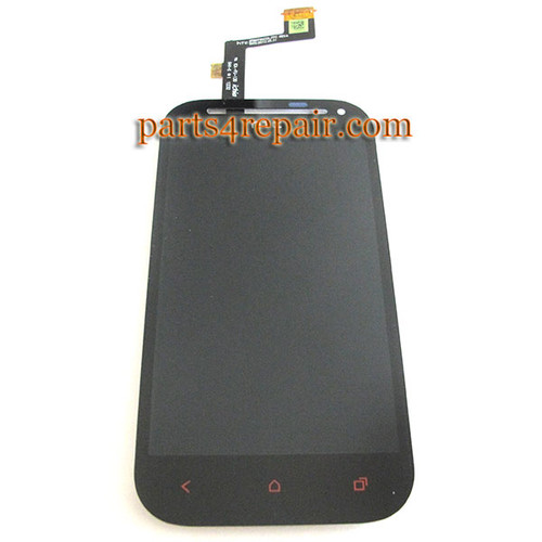 Complete Screen Assembly with LGP for HTC One SV -Black from www.parts4repair.com