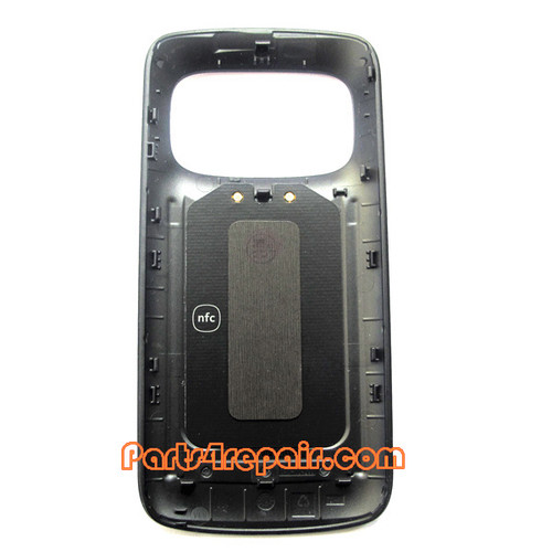 Back Cover with NFC for Nokia 808 Pureview -Black from www.parts4repair.com