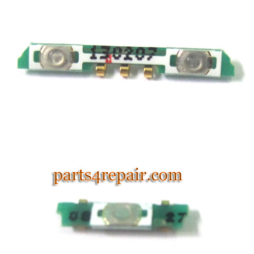 Side Key Contact for LG Nexus 4 E960