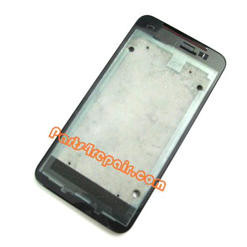 Front Housing Bezel for HTC Butterfly -Black