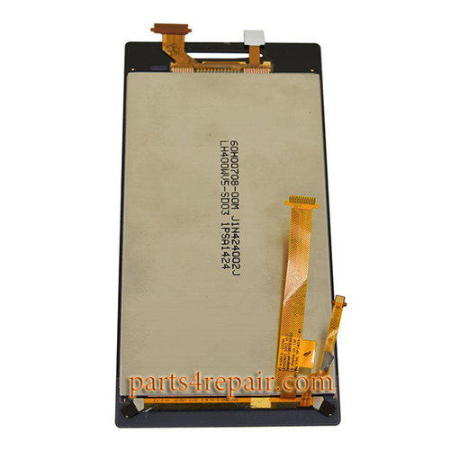 Complete Screen Assembly for HTC Windows Phone 8S -Light Yellow