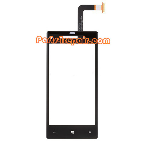 HTC Windows Phone 8X Touch Screen with Digitizer from www.parts4repair.com