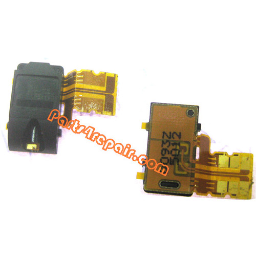 Earphone Jack Flex Cable for Nokia Lumia 720 from www.parts4repair.com