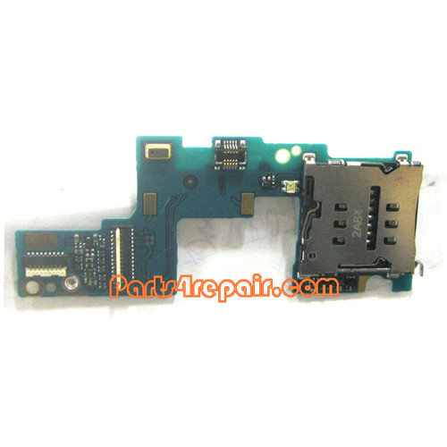 SIM Holder Flex Cable for HTC Window Phone 8X from www.parts4repair.com